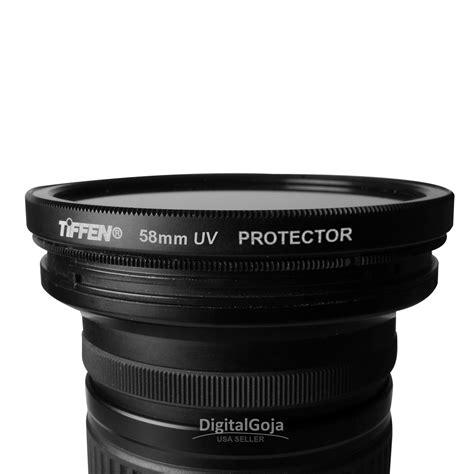 nikon filter uv 58mm tiffen 58mm uv filter lens protector glass for canon nikon