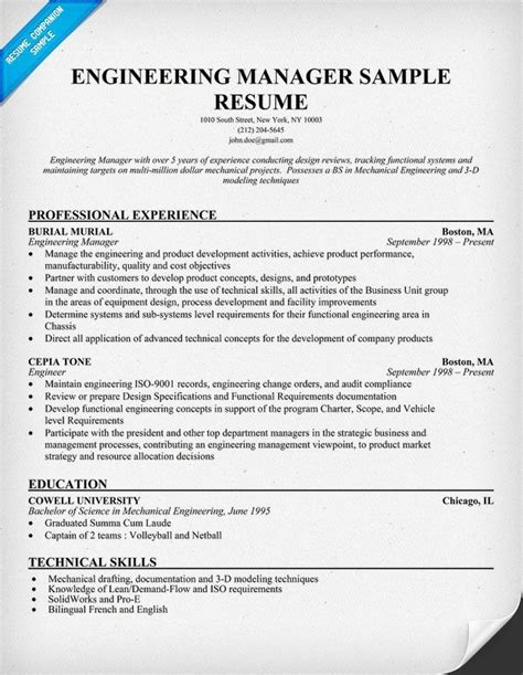 sle resume engineering project manager mid level 54 best larry paul spradling seo resume sles images on
