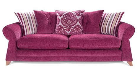 Glamorous Deep Pink Tufted Sofa Design Pink Tufted Sofa