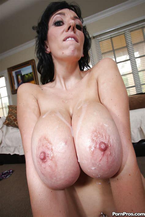 Milf Babe With Big Tits Alia Janine Getting Banged In Her Shaved Twat Pornpics Com