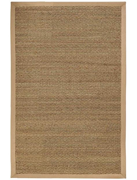 Seagrass Area Rug Sabertooth Seagrass Area Rug In Solid Rugs
