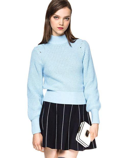 light blue turtleneck sweater light blue turtleneck sweater pastel sweaters 79