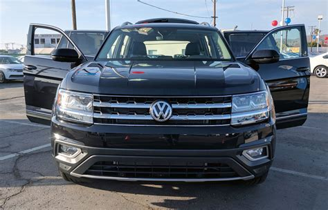 black volkswagen atlas 2018 volkswagen atlas behemoth suv big euro