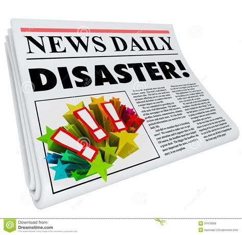 newspaper layout disasters newspaper disaster headline crisis trouble alert royalty
