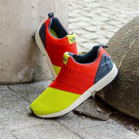 Adidas Slip On adidas zx flux slip on solar yellow sneaker bar detroit