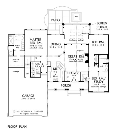 gardner floor plans gardner floor plans the piedmont house plan images see