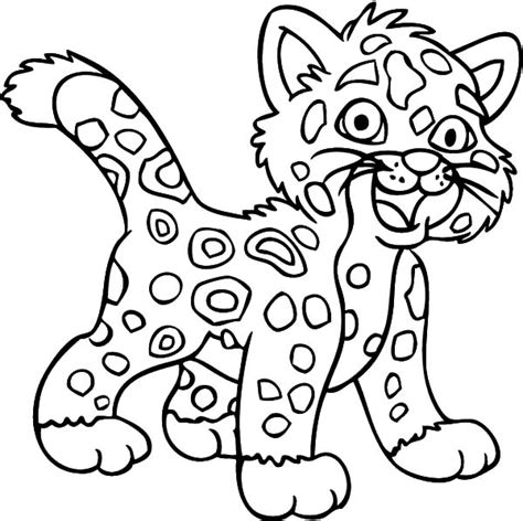 Diego Baby Jaguar Coloring Pages Print Jaguar Coloring Baby Jaguar Coloring Pages