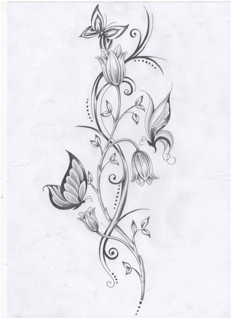 roses on a vine tattoo designs 24 awesome vine designs