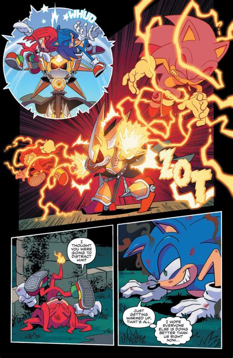 idw sonic  hedgehog  preview page   sonic stadium