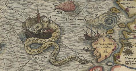 sea monsters on medieval national paranormal association september 2013