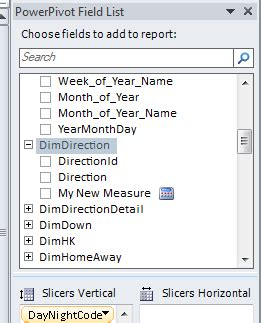 defer layout update excel 2010 powerpivot field list and excel field list at same time