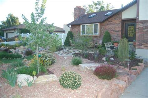 front yard rock landscaping ideas front yards pintrest studio design gallery