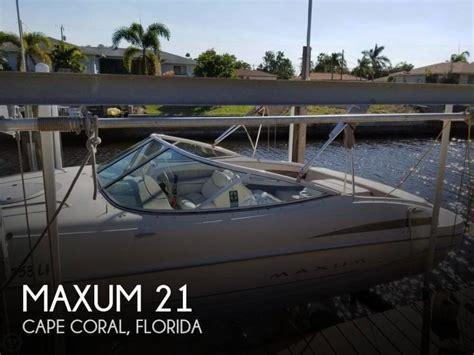 maxum marine boats for sale maxum 2100 sc boats for sale