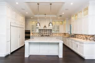 White And Wood Kitchen 45 Luxurious Kitchens With White Cabinets Ultimate Guide