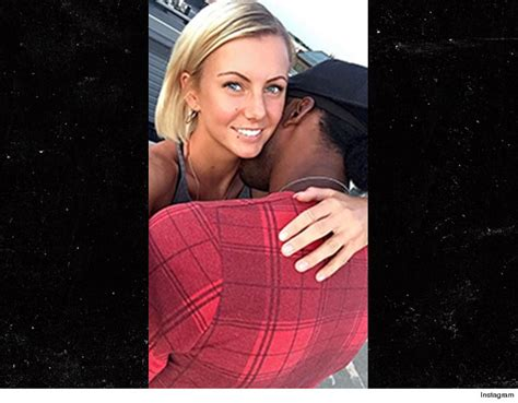robert griffin iii s pda with new blonde tmz com