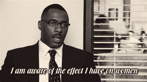 Idris Elba The Office by Idriselbaeffectonwomen