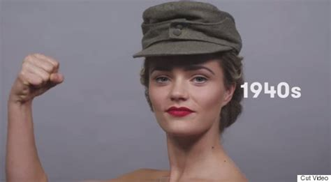 what are the current hairstyles in germany video elle reproduit 100 ans de beaut 233 allemande en 1 minute