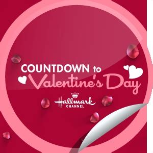 hallmark valentines day countdown to s day hallmark channel