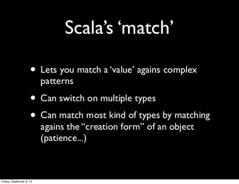 scala pattern matching haskell intro to pattern matching in scala