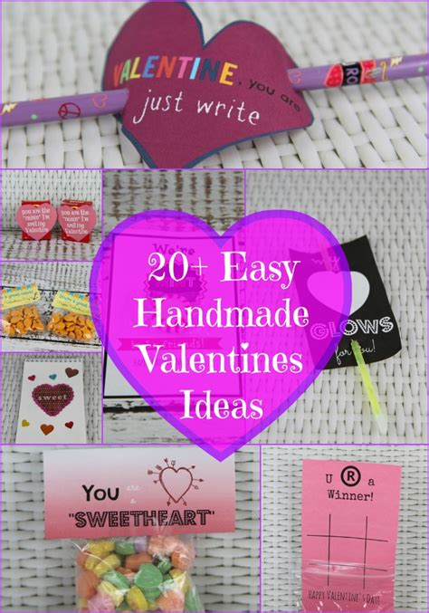 Easy Handmade Valentines - 20 handmade s day card ideas bargainbriana