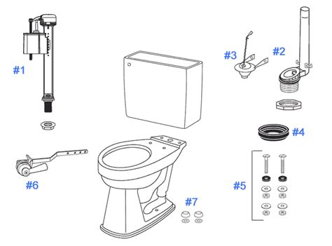 Toto Plumbing Parts by Fascinating Parts For Toilet Flush Gallery Best Idea