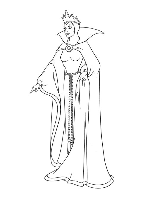 evil queen coloring page once upon a time evil queen coloring pages coloring pages