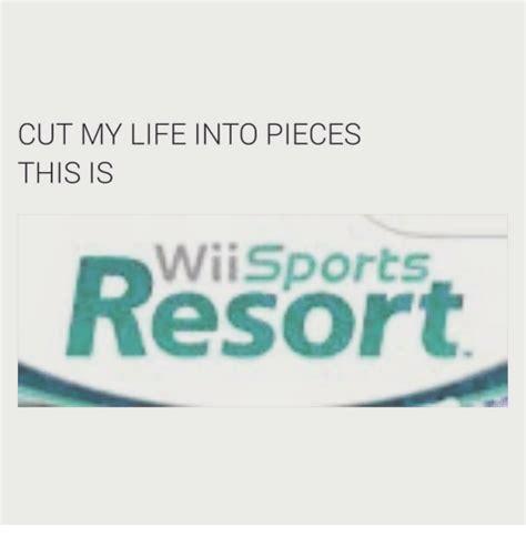 cut  life  pieces   wii sports esor life