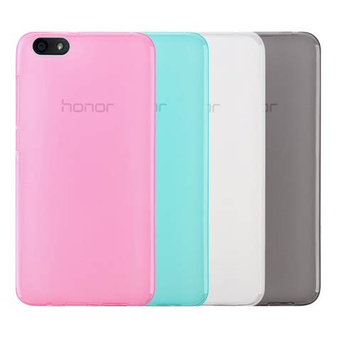 Huawei Honor 4x Soft Cover Casing Silikon Sarung Karet Transparan huawei honor play 4x protective silicone 7121 9 99 smartphone professional