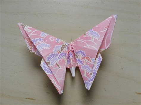Butterfly Paper Folding - origami butterfly 183 how to fold an origami animal