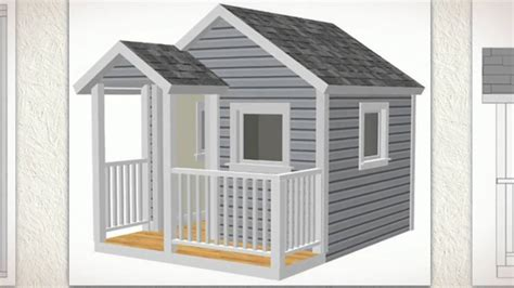 how to make a house a home 8 x 8 playhouse how to build children s 8 x 8