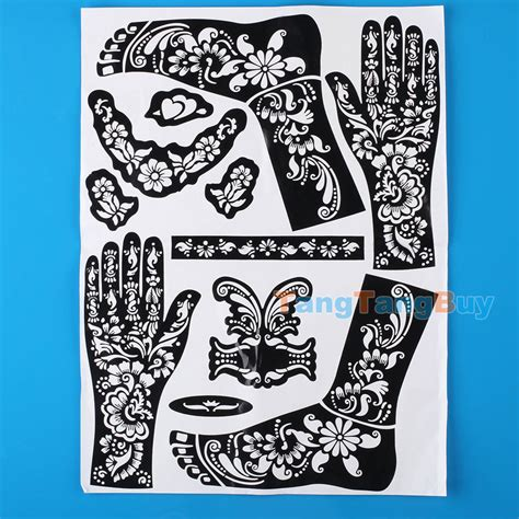 sexy henna tattoo sell henna temporary template self adhesive