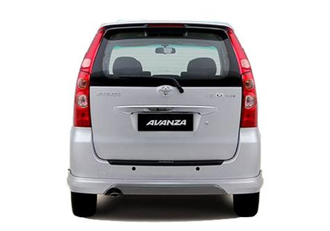 Wiper Belakang Mobil Avanza Asli toyota avanza rear view exterior picture carkhabri