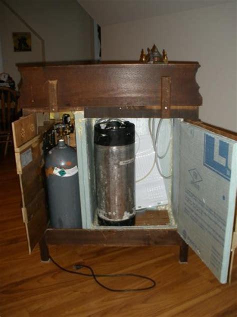 Small Home Bar With Kegerator Diy Kegerator Moving Beyond Functionality Homebrewtalk
