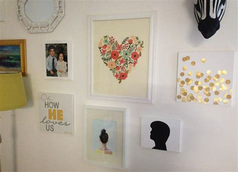 fancy wall decor idea with grand easy diy design of