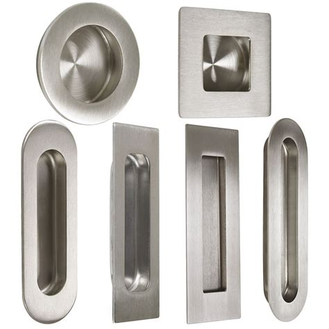 Recessed Door Knob by Probrico Stainless Steel Flush Pulls Recessed For Sliding