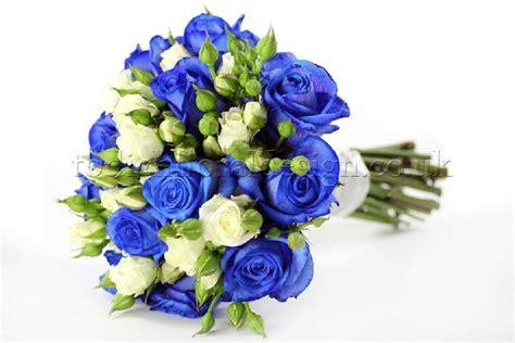 Blue Wedding Flowers Pictures by Bridal Flowers Uk History