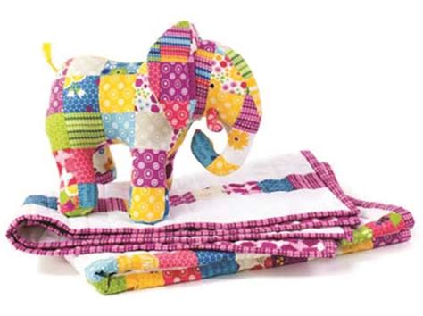 Patchwork Elephant Pattern - patchwork elephant baby quilt pattern