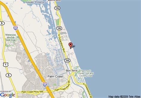 The Hammock Florida map of ginn hammock resort palm coast