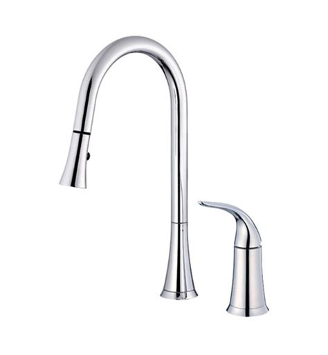 danze pull down kitchen faucet danze d459022 antioch single handle pull down kitchen