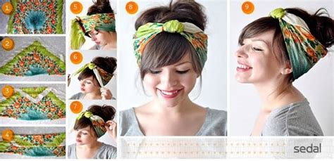 Pin Up Scarf Hairstyles by 1000 Images About Hairstyles On Diy Bow