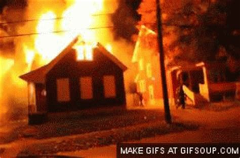 house on fire gif on fire gif find share on giphy