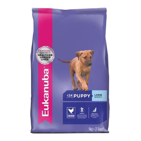 large breed puppy food reviews eukanuba large breed puppy food petbarn