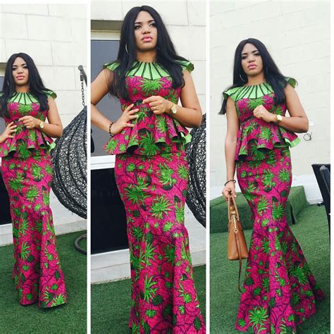 ankara skirts styles lovely ankara skirt and blouse style dezango fashion zone