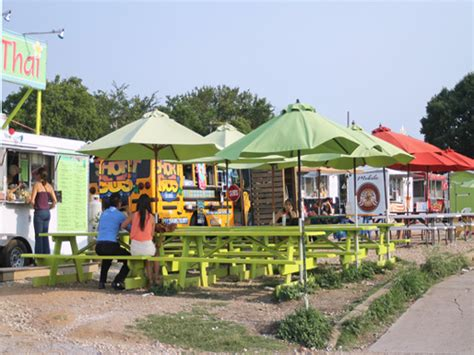 food truck park design 6 food trucks on austin s south congress avenue that are
