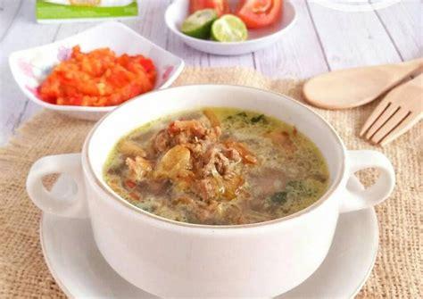 resep soto daging kuah santan oleh retnoikaw cookpad