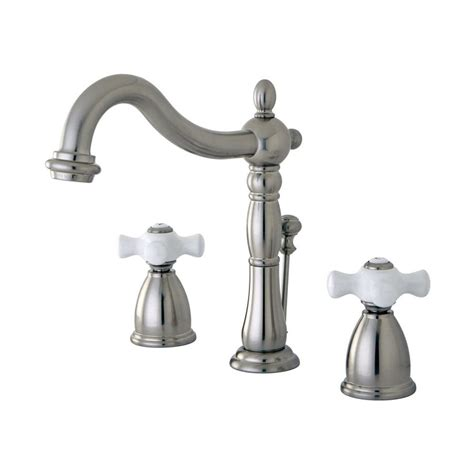 Satin Nickel Bathroom Faucet by Shop Elements Of Design New Orleans Satin Nickel 2 Handle