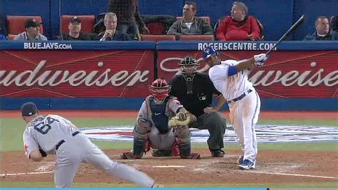 baseball bat flip swing second best batflip of the night goes to edwin s game