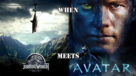 film up jurassic world when jurassic world meets avatar mashup trailer hd