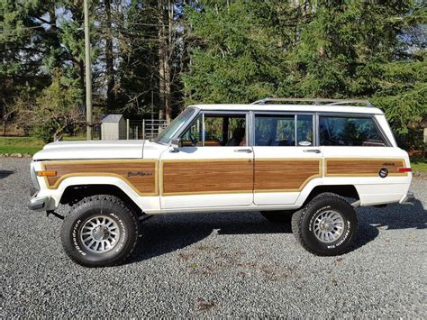 1989 jeep wagoneer for sale vintage classic 1989 jeep wagoneer grand offroad for sale