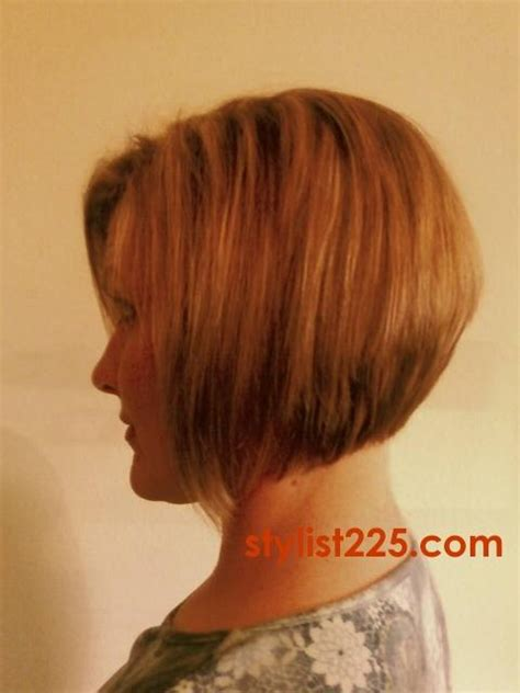beveled back hair cut stacked bob hairstyles back view category hc inverted